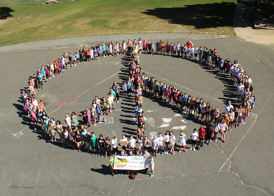 Miller Place Students Celebrate International Peace Day