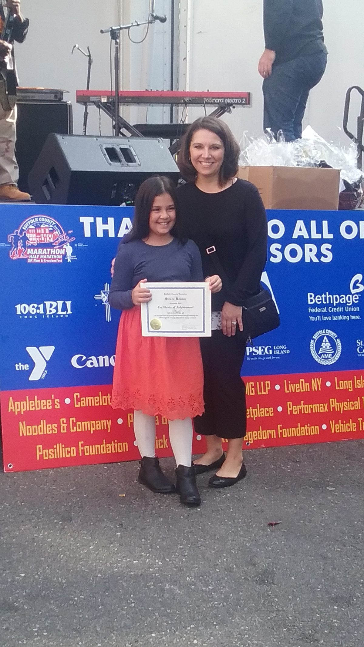 Laddie A. Decker Sound Beach School Celebrates Suffolk County Marathon Essay Contest Winner