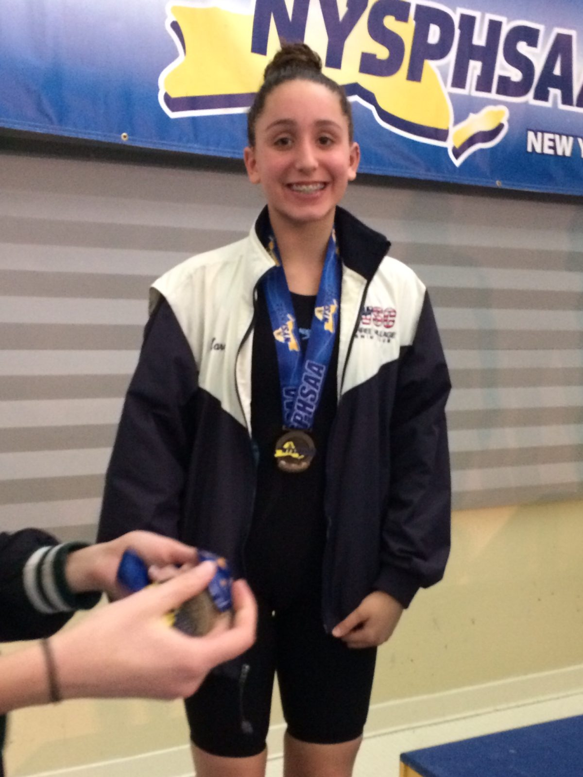 Miller Place Student Competes at NYSPHSAA Swim Championship