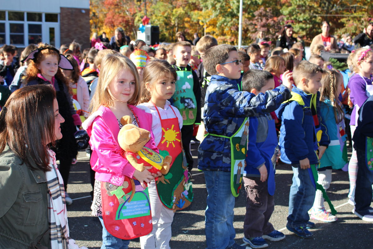 Miller Place Elementary Students Parade Favorite Nursery Rhymes