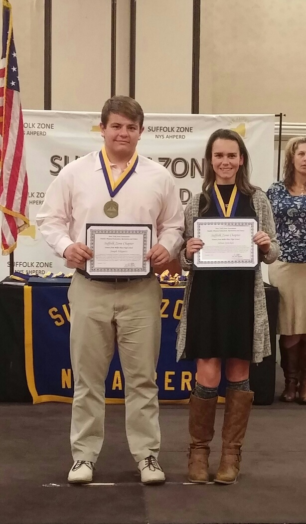 Miller Place High School Students Awarded for Excellence in Physical Education