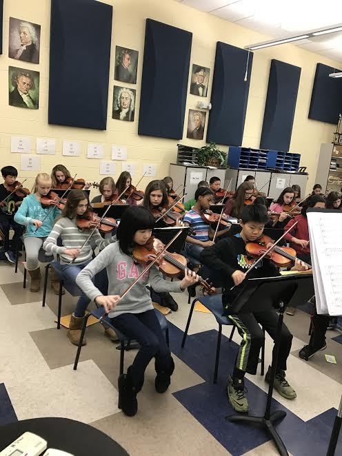 Miller Place Students Perform in Prestigious Music Concert