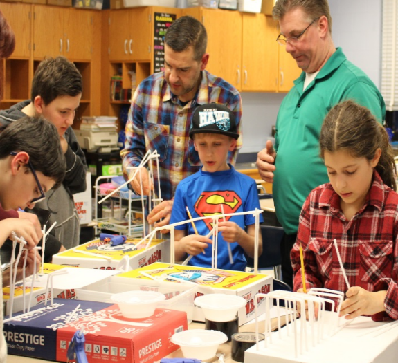 Miller Place School District Hosts STEAM Night
