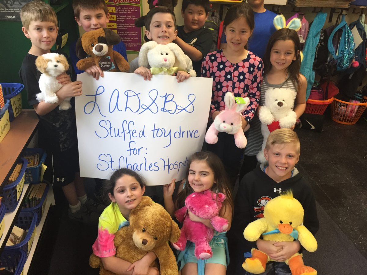 Miller Place Students Donate Toys to Local Hospital