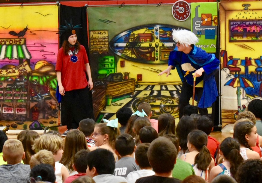 Miller Place Students Learn About Energy Conservation through Comedic Theater