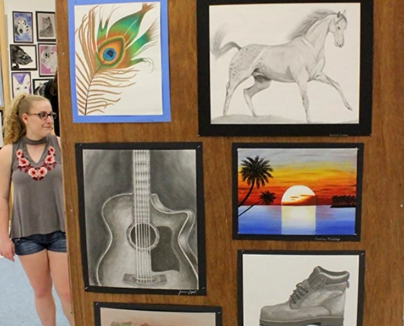 Miller Place High School Hosts Art Show