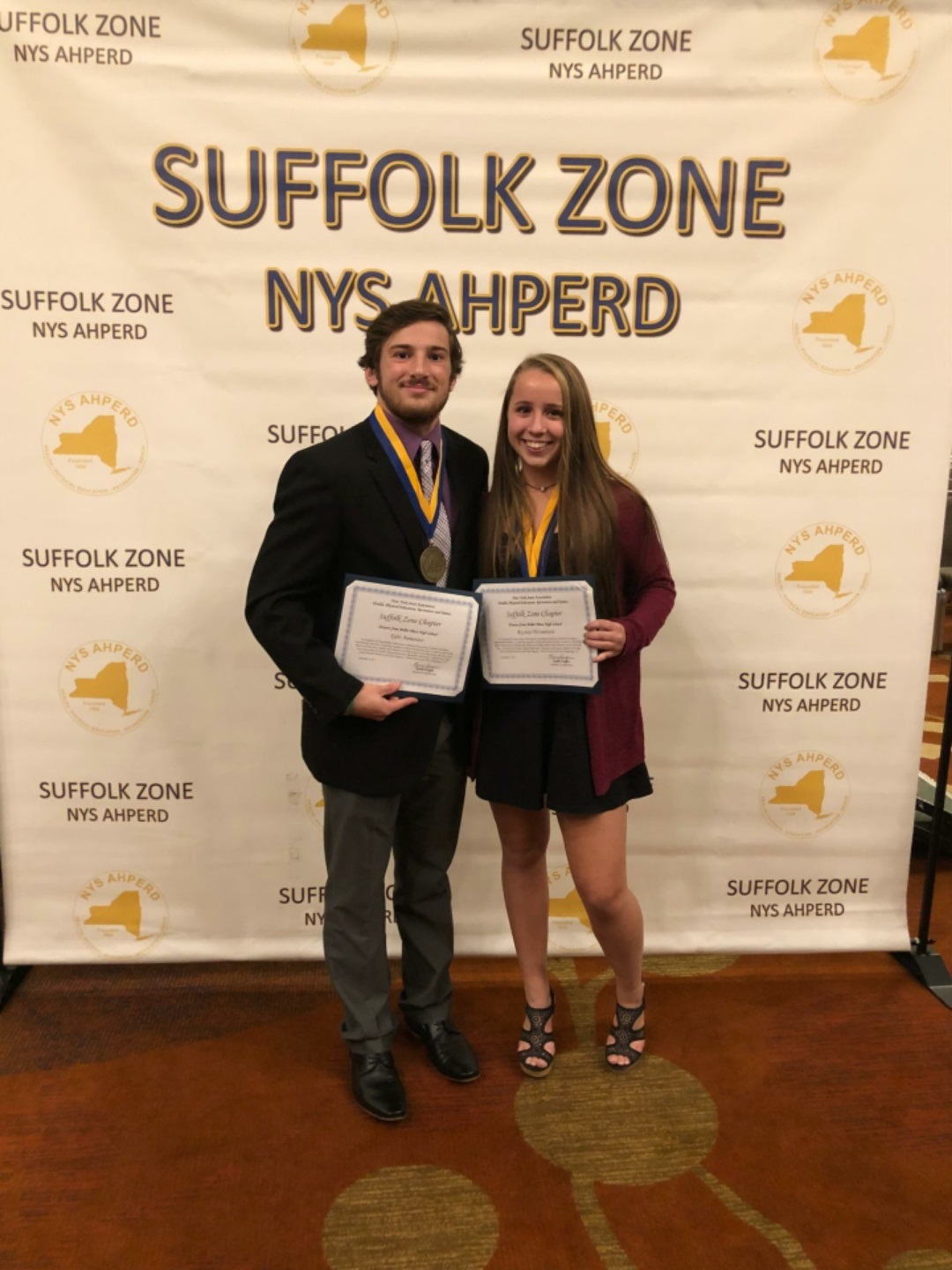 Miller Place Students Receive Recognition from Suffolk County for Athletic Excellence